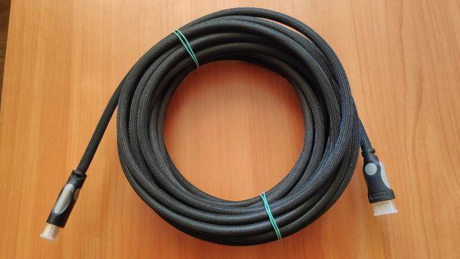 Кабель HDMI-HDMI 10 м усиленный