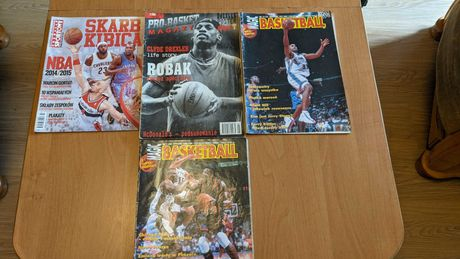 Czasopisma NBA Pro Basket + Magic Basketball gratis