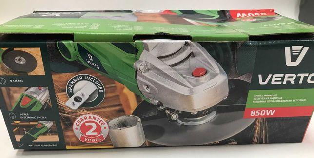 OBI Szlifierka kątowa o mocy 850 W marki Verto.Obniżka 129,00 na 96,75