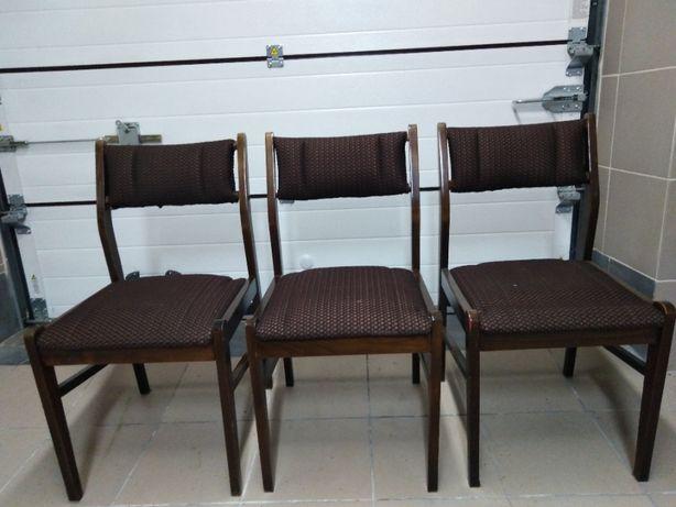 Krzesła PRL stołki PRL