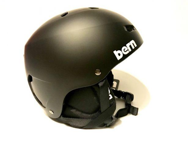 Kask snowboardowy narciarski Bern Macon Crank Fit duży do 62 cm