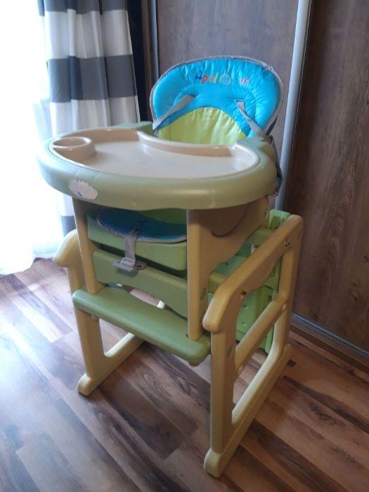 Krzesełko do karmienia dziecka 2w1 Jelenia Góra - image 1