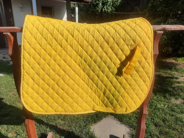 Czaprak Tattini. Żółty, full.