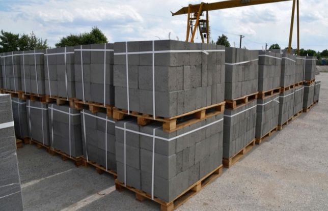Bloczek betonowy 38x24x12 (B20)