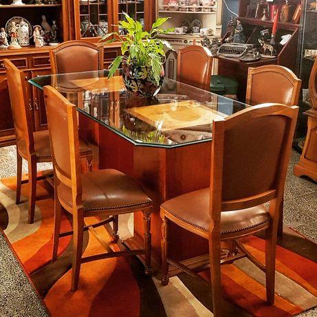 Mesa de Jantar em Vidro