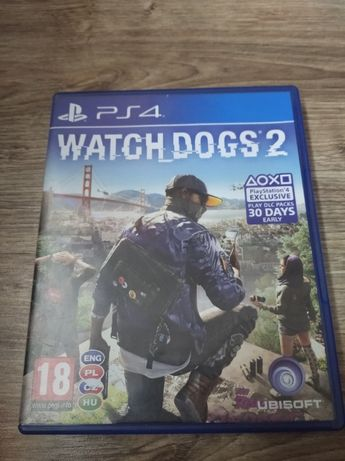 Gra PlayStation 4 WATCH DOGS 2 PL PS4