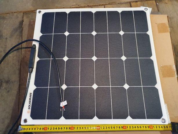 Panel słoneczny/elastyczny/solar 50w kempingi/kampery, jachty, łodzie