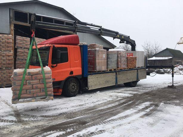 Кран манипулятор послуги вантажо перевезення маніпулятор Ужгород