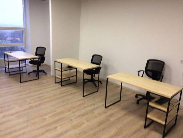 Изготовление офисной мебели в стиле ЛОФТ на заказ!