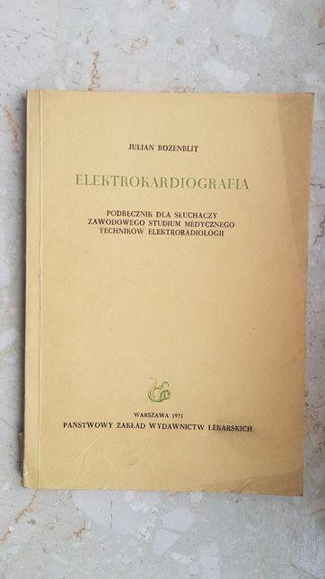 Elektrokardigrafia - Julian Rozenblit wyd. 1971