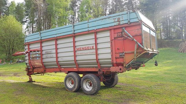 Przyczepa samozbierajaca do przewozu  kukurydzy Mengele 8,10t