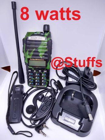 Rádio BAOFENG UV-82+ 8W walkie talkie VHF/UHF