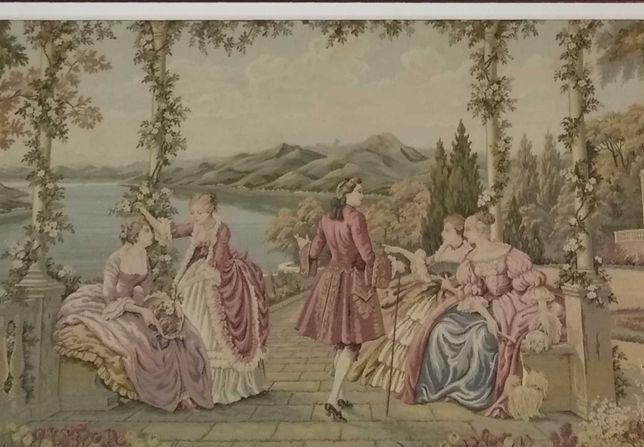 Quadro tapeçaria Gobelin