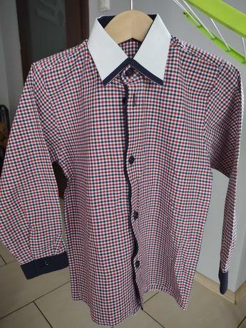 Elegancka koszula chłopięca rozmiar 110