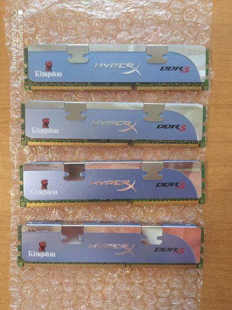 Оперативна память Kingston HyperX DDR3 8Gb (4х2Gb)