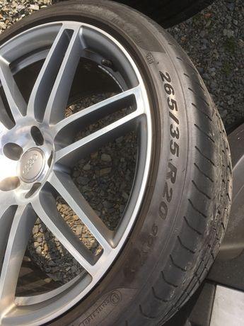 koła lato alufelgi Audi A7 A6 20 cali z oponami S6 S7 oryginalne