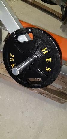 Obciążenia olimpijskie fi 51mm  HES 2X25KG