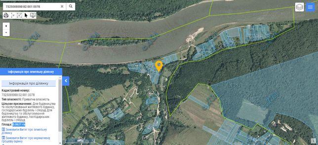 Продам земельну ділянку на Дністрі