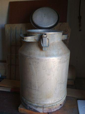 Бидон 40л (бидон алюминиевый)