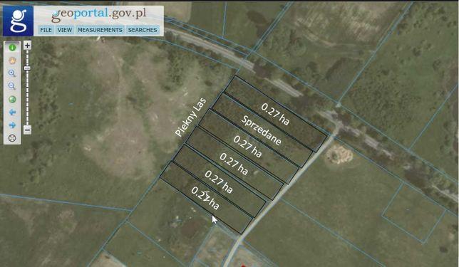 Widokowa Dzialka 0,27 ha - Lauda k. Lidzbarka Warminskiego