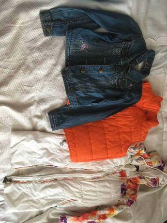 Одежда для девочки 130-140 см