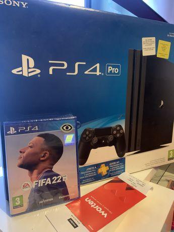 Playstation 4 PRO 4k 1TB + 3 jogos ( FIFA22 incluido )