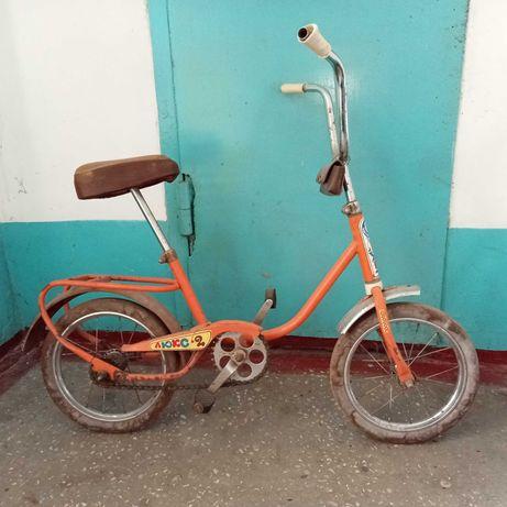 Детский велосипед Люкс 2.