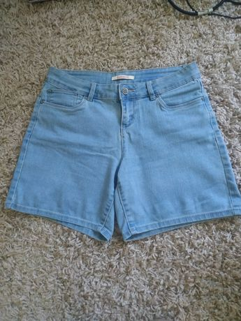 Spodenki jeansowe dżinsowe Camaieu