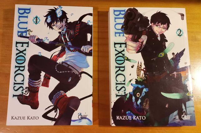 Manga Blue Exorcist (1º e 2º Volume)