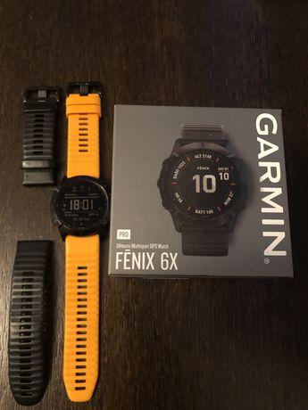 Garmin Fenix 6X Pro Gwarancja, Mapy Topo, Azymut