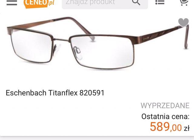 Eshenbach titanflex 820591 oprawki okulary meskie