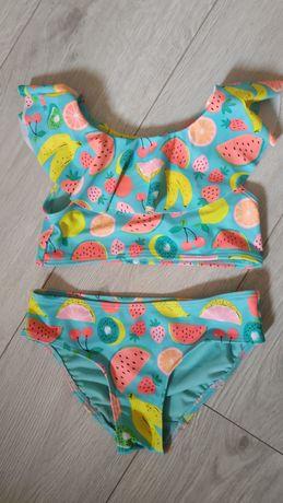 Яскравий купальник HM для дівчинки 4-6 років (110-116). Стан нового.