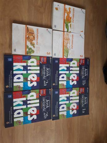 Książki do liceum matematyka,niemiecki -zakres rozszerzony