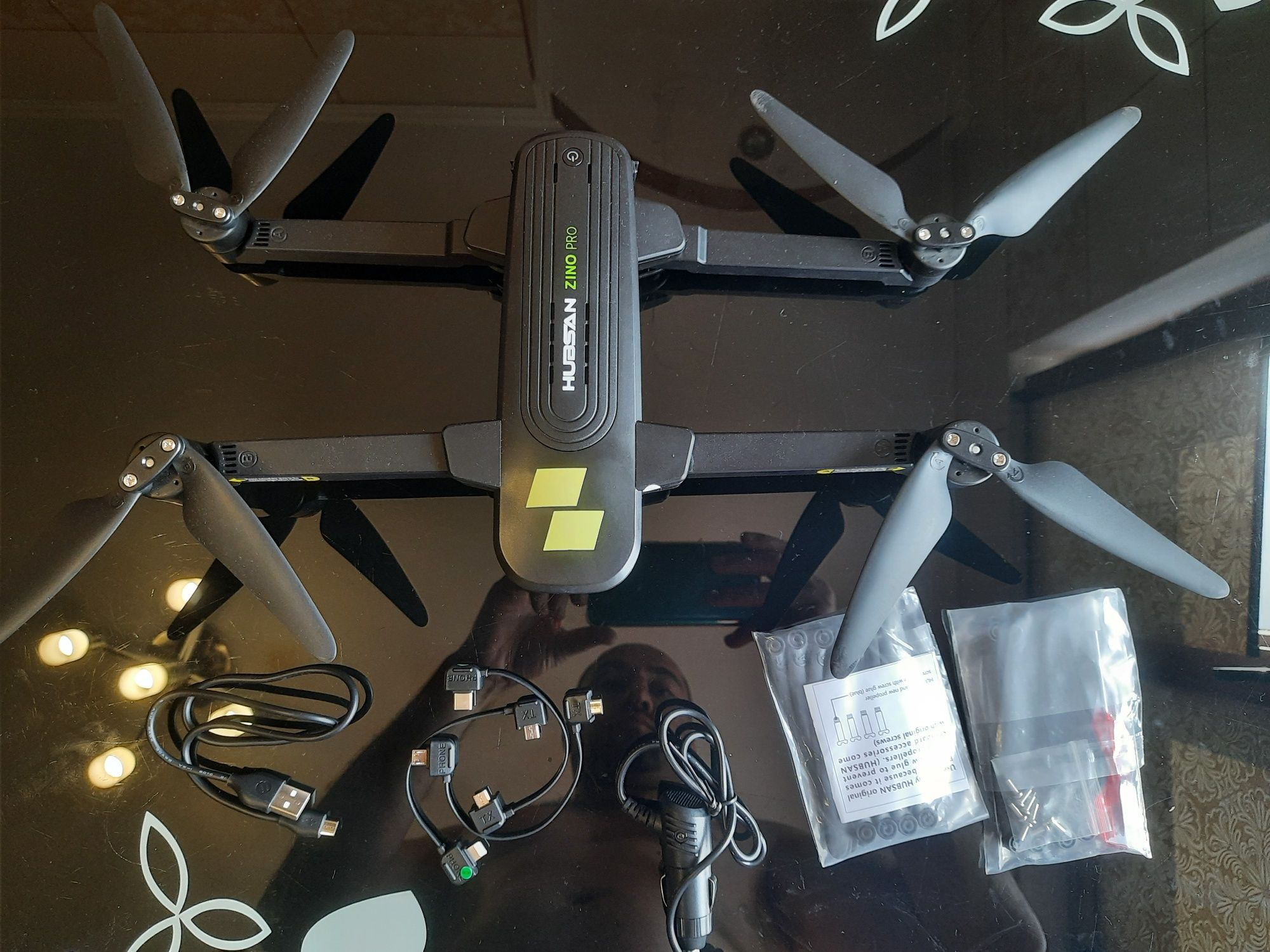 Квадрокоптер Hubsan Zino Pro Wi-Fi 5G FPV 4K Camera GPS RTF (ZINO PRO)