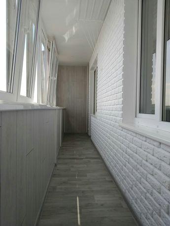 Балкон под ключ , окна, двери