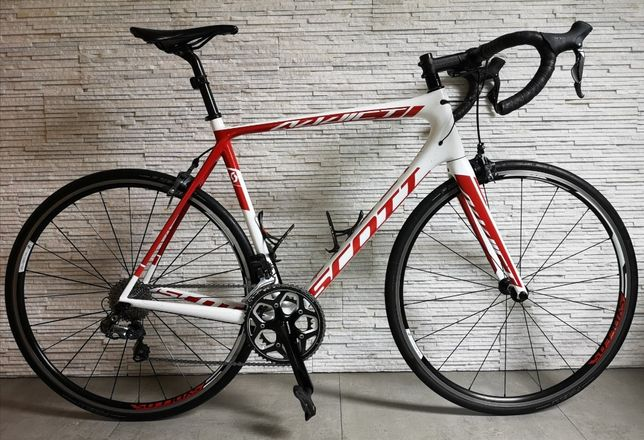 Karbonowy rower szosowy SCOTT ADDICT 15 Di2 XL/58 Shimano Ultegra