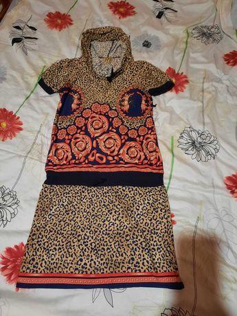 Красивое нарядное платье OLKO камешки стразы 46 48