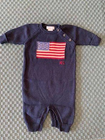 Vendo Babygrow Crochet Polo Ralph Lauren Original