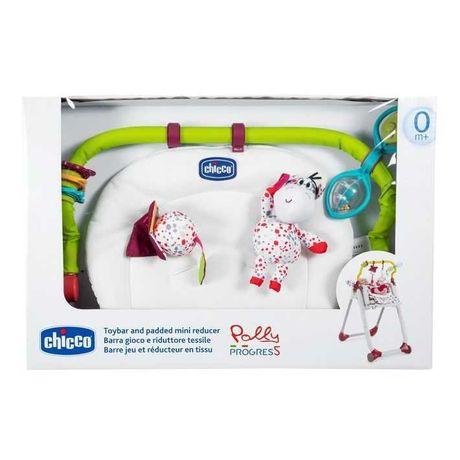 Arco de brinquedos e redutor têxtil para cadeira polly progress 5