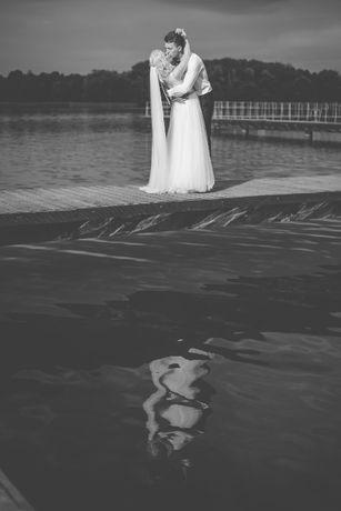 Suknia ślubna rozmiar 36 !!! Gratis długi welon
