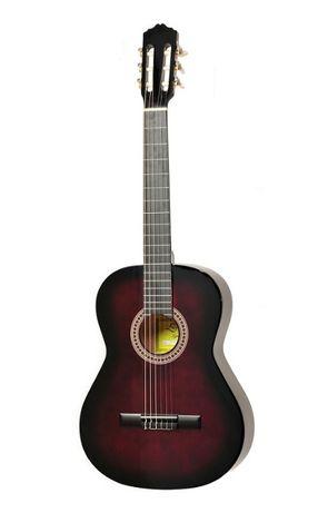 Gitara klasyczna Ever Play EV-127 4/4 czerwona