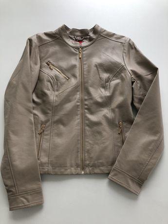 Ramoneska kurtka skóra Guess okazja nowość
