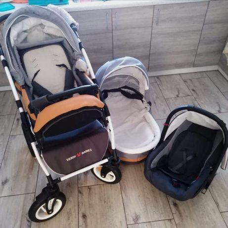 Wózek 3w1 VERDI BABIES Optima