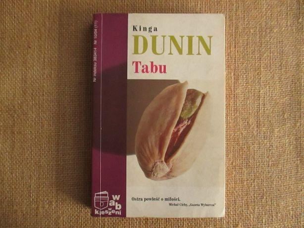 "Kinga Dunin ""Tabu"""