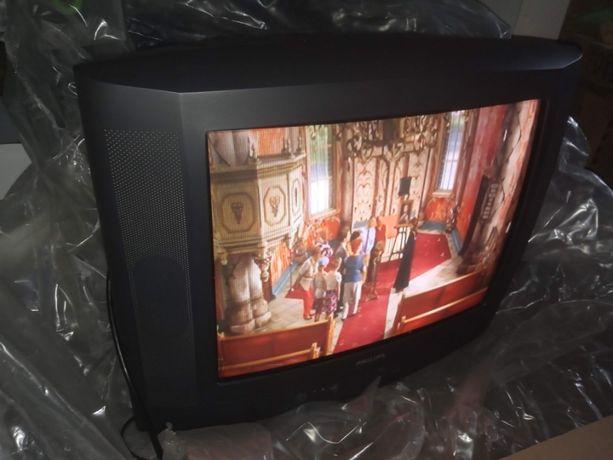 Zadbany telewizor Philips 21 cali kineskopowy