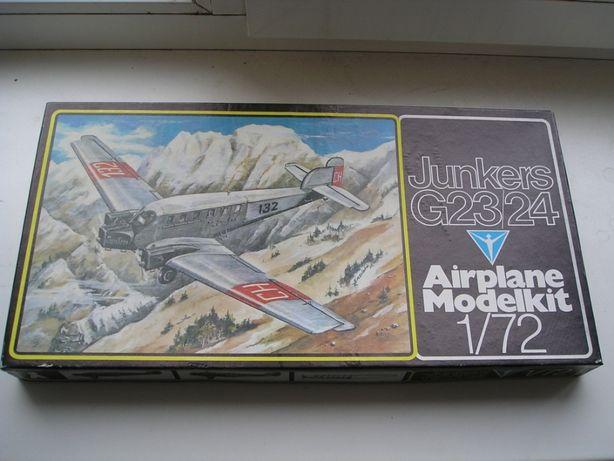 Юнкерс G23/24 Plasticart Пластикарт ГДР сборная модель самолета.