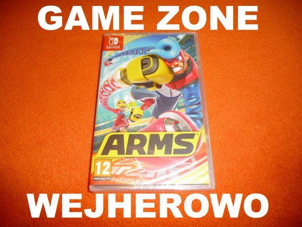 ARMS Nintendo SWITCH = Wejherowo = gra ruchowa = kapitalny boks