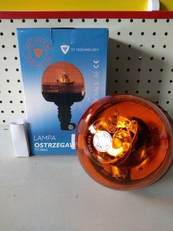 Lampa ostrzegawcza halogen przegub. 12/24V z miękkim uchwytem