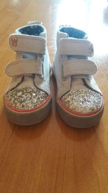 Buty tenisówki dla dziewczynki