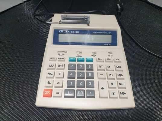 Kalkulator z drukarką Citizen CX123II